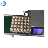 Buy cheap Automatic Egg Inkjet Date Code Printer , Inkjet Marking Equipment from wholesalers
