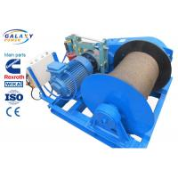 Best Electronic Control Power Line Stringing Equipment Slow Speed Winch Lifting Road Bridge Installation wholesale