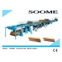 China Different Ply Corrugated Cardboard Production Line Customized Rotary Cutting Type on sale
