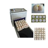 Best Six Nozzles At The Same Time Printing High Efficiency Eggs Ink-Jet Printing Machine wholesale
