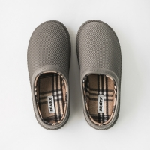 China 46EU Mens Winter House Slippers , Anti Slip Foam Sole Slippers for sale