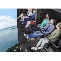 Best Indoor Flight Simulation Flying Theater With U-Screen Motion Chair wholesale