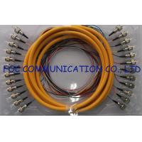 Buy cheap 0.9mm Distribution Fan Out Fiber Optic Patch Cord 12Core for Telecom and Datacom from wholesalers