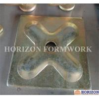 Best Square Pressed Waler Plate 120x120x6mm Conjunction Galvanized Finishing wholesale