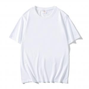 Best Wholesale T Shirt High Quality Men'S Plain Dyed White Tee Custom Sublimation Blanks Oversized T-Shirts wholesale
