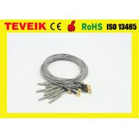 Best EEG cable,DIN1.5 socket,1m,Gold plated copper, medical eeg cable wholesale
