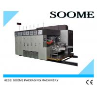 Best High Precision Automatic Flexo Printing And Die Cutting Machine With PLC Controlled wholesale