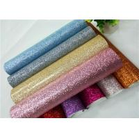 Best Shoes Bags Wallpaper Glitter Fabric Roll Knitted Backing Technics 0.6mm Thickness wholesale