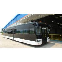 Best Full aluminum body airport apron bus with 110 passengers capacity and 14 seats wholesale