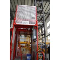 Best Construction Material Man Material Hoist / Lifting Hoist Equipment With Single And Double Cage wholesale