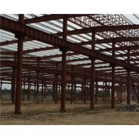 Quality Q235 / Q345 Pipe Truss Large Steel Building Workshop Durable Fabrication Steel Structures wholesale