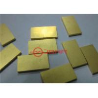 Buy cheap CuW Sub - Mounts CuW10/90 Heat Sink Tungsten Copper Laser Diode Packaging from wholesalers