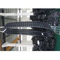 Buy cheap Komatsu 225t Eco Jcb Excavator Rubber Tracks Width 450 * Pitch 86 * Links 56 from wholesalers