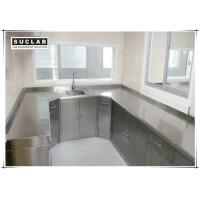 Buy cheap Floor Mounted Stainless Steel Laboratory Furniture For Hospital And Food Factory from wholesalers