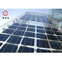 Buy cheap Polycrystalline 200 Watt Solar Panel , BIPV Solar Modules 25% Transparent from wholesalers