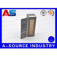 Buy cheap E Liquids Steroids Pharmaceutical Packaging Box With Window / Metalic Display from wholesalers