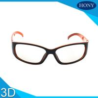 Quality Reald  PC Plastic Circular Polarized 3D Glasses For 3D Movies wholesale