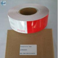Best Prismatic Reflective Trailer Tape Conspicuity Red White emergency Vehicle DOT Approved wholesale