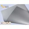 Best Silver Grey Fiberglass Fire Resistant Welding Blanket Silicon Rubber Colored Fiberglass Cloth wholesale