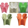 Quality Ron Arad Clover Fiberglass Arm Chair Flower Shape Customized For Living Room wholesale