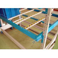 Quality Powder Coating Carton Pallet Flow Rack Aluminum Alloy Flow Rails With Plastic Rollers wholesale