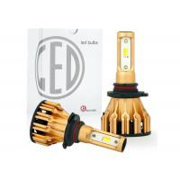 Buy cheap All In One Aluminum Car LED Headlight Bulbs Tri Color H4 H7 9005 9006 DRL 25W from wholesalers