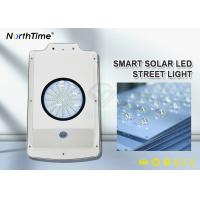 Buy cheap Free Sample 6W All-in-One Solar Garden LED Street Lights With Lithium Battery 4AH from wholesalers