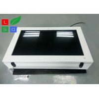 Best Large Screen LCD Digital Signage Display , Outdoor 2000 Cd/M2 Brightness LCD AD Display wholesale
