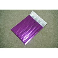Best Antistatic Metallic Pink Bubble Mailers , Bubble Wrap Bags 135x210 #-AC wholesale