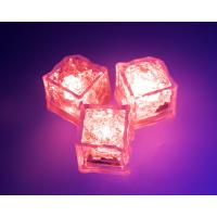 Buy cheap Cube Shape Motion Night Light Glowing LED Ice Cubes For Parties Decoration from wholesalers