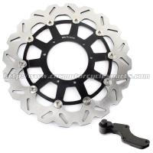 Quality Custom 320mm Wave Floating Motorcycle Brake Discs For motorbike wholesale