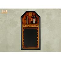 Best 3D Polyresin Parts MDF Decorative Chalkboards Wood Wall Hanging Menu Board wholesale