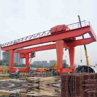China Type U 10T 50/10T Double Beam Crane Span18m Working Class A5 for sale
