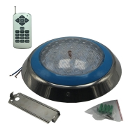 Buy cheap Surface Mounted Flat RGB LED Pool Light 54W AC12V from wholesalers