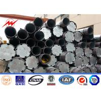 Buy cheap 1km range overhead transmission power line electric pole For High Voltage from wholesalers