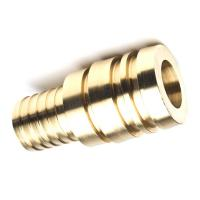 Best High Precision Medical Equipment Parts / Brass Gas Pipe Joints Environmentally Friendly wholesale