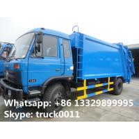 Quality 2017s best price dongfeng 12cbm garbage compactor truck for sale, hot sale dongfeng refuse garbage truck for sale wholesale