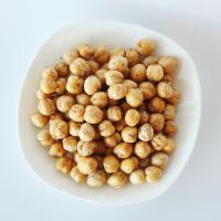 Best Healthy Snacks High Nutrition Roasted Chickpeas Salted / Black Pepper Flavor wholesale