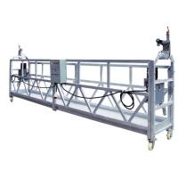 Best OEM ZLP630 Aluminum Rope Suspended Window Cleaning Platform Cradle With 630 Rated Load wholesale