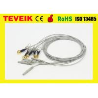 Best DIN1.5 Socket Gold Plated Copper Ear-clip EEG Cable, Waterproof EEG cable wholesale