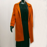 China Size 40 800G Double Faced Womens Winter Coat for sale