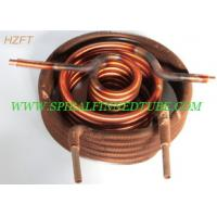 Buy cheap Automotive Engineering Condenser Finned Coil Heat Exchangers  Aluminum / Copper from wholesalers