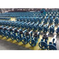 Buy cheap Wafer Type Heavy Load NR Sleeve Double Acting Pneumatic Slurry Knife Gate Valve from wholesalers