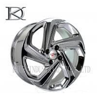 Best Luxurious Machined Aluminum Wheels 5 Spoke Deep Lip Rims Electroplating Finished wholesale
