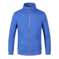 Best High Quality Causal Zipper Hoodie Custom Logo With 85% Cotton 15% Polyester Fiber Long Sleeve wholesale