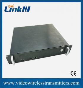 Best 2U TDD Land Survey Indoor Base Station Transceiver Support Remote Surveillance wholesale