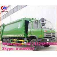 Quality hot sale best price dongfeng 4*2 LHD 18cbm compactor garbage truck. factory sale dongfeng 16m3 garbage compactor truck wholesale