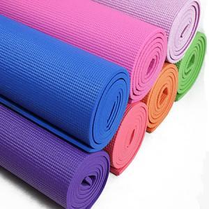 Quality Recycled Polyurethane Traveling Durable Yoga Mat , Heat Insulation Light Weight Foam Yoga Mat wholesale