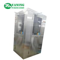 Best L Type Door Corner Stainless Steel Air Shower Customize Size Easy To Clean wholesale