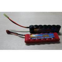 Quality High Power Discharge Typ 8.4V 1600 mAh  Airsoft Gun Battery / Rechargeable NIMH AA Batteries wholesale